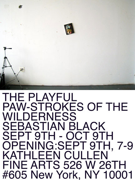 sebastian black playful pawstrokes of the wilderness show